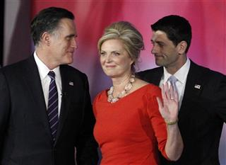 Mitt Romney, Ann Romney, Paul Ryan