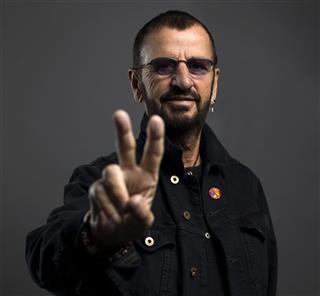 Ringo Starr Portrait Session