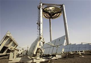 Mideast Climate Talks Solar Dreams
