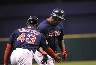 David Ortiz, Jerry Royster