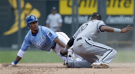 Jarrod Dyson, Alexei Ramirez