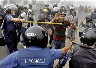 Bangladesh Opposition Protest
