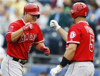 Mike Trout, Albert Pujols