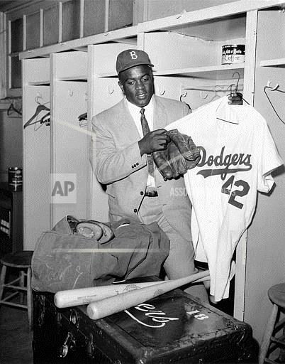Watchf Associated Press Sports Professional Baseball (National League) New York United States APHS50636 Jackie Robinson