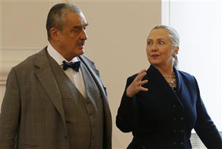 Karel Schwarzenberg, Hillary Clinton