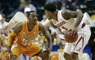 SEC Tennessee Alabama Basketball