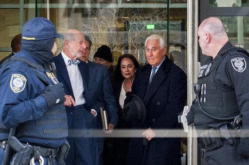 DC: Roger Stone, republican strategist and close friend of P