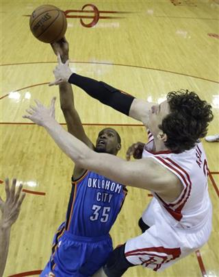 Kevin Durant, Omer Asik