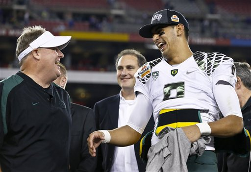 Chip Kelly, Marcus Mariota
