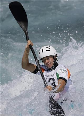 London Olympics Kayak Slalom Women