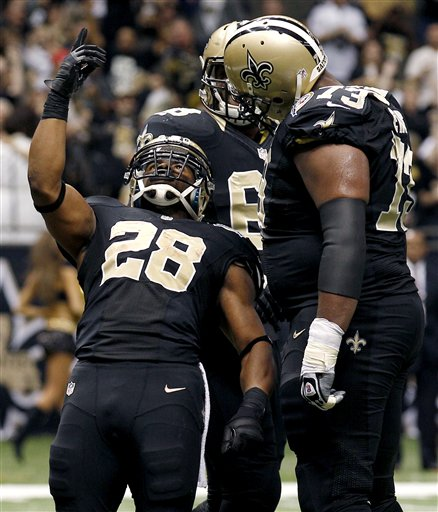 Mark Ingram, Jahri Evans