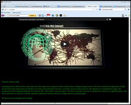 Commission Website Hacked