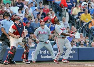 Brian McCann, Ty Wigginton, Jimmy Rollins