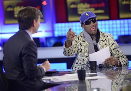 Dennis Rodman, George Stephanopoulos