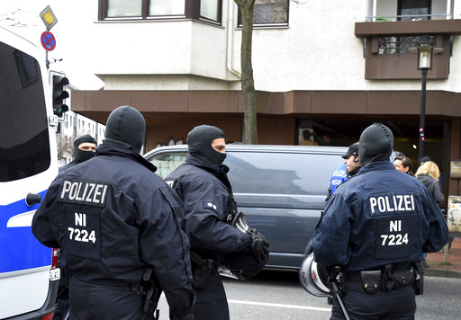 German authorities ban Islamic extremist group