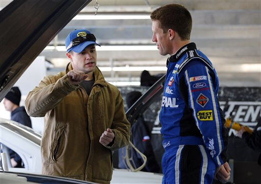 Carl Edwards, Ricky Stenhouse Jr