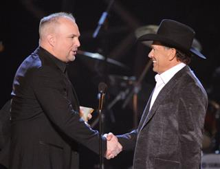 Garth Brooks, George Strait