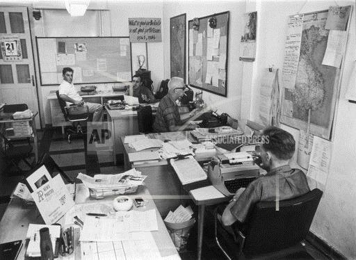 AP Staffers At The Office