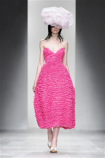 Britain Fashion Week John Rocha