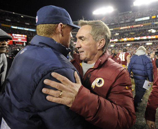 Jason Garrett, Mike Shanahan