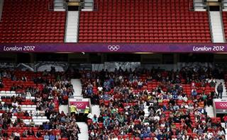 London Olympics Soccer Women Empty Seats