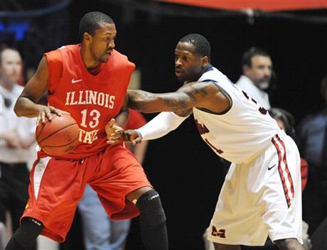 NIT Illinois St Mississippi Basketball