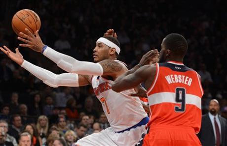 Carmelo Anthony, Martell Webster