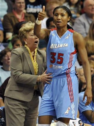 Angel McCoughtry, Marynell Meadors