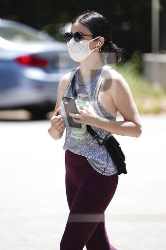 Lucy Hale is seen in Los Angeles - 5/22/20