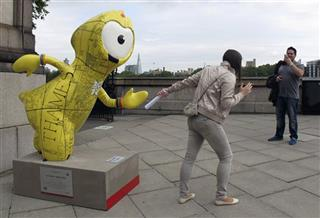 Britain Olympics Mascots