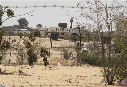 Mideast Egypt Jihadists in Sinai