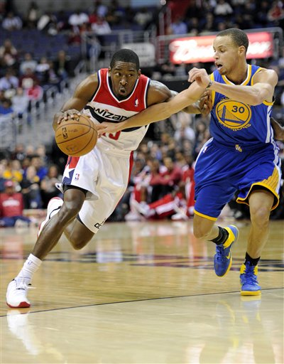 Stephen Curry, Jordan Crawford