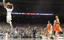 NCAA Syracuse North Carolina Final Four Basketball