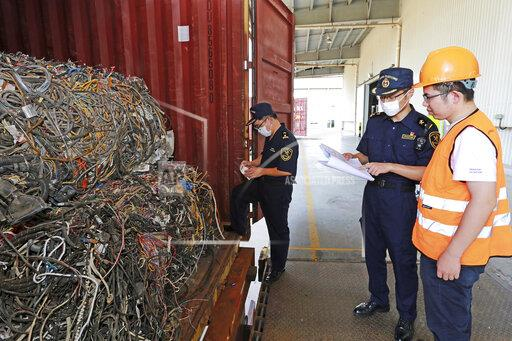 CHINA ZHEJIANG CUSTOMS FOREIGN WASTE
