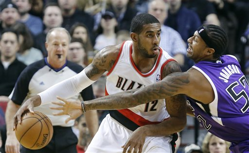 LaMarcus Aldridge, James Johnson
