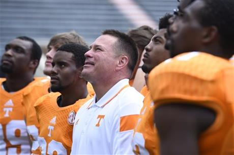 Tennessee Media Day Football