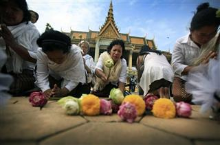 APTOPIX Cambodia Obit Sihanouk