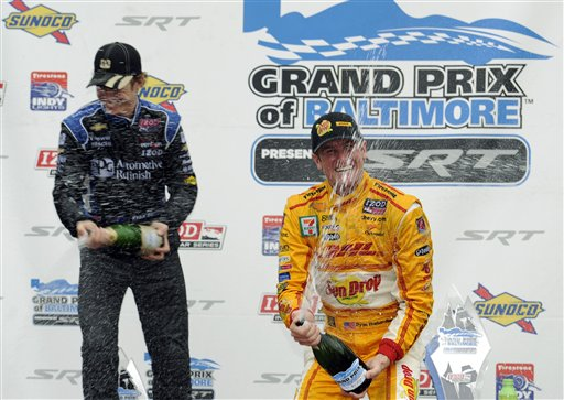 Ryan Hunter-Reay, Ryan Briscoe