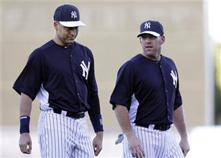 Derek Jeter, Kevin Youkilis