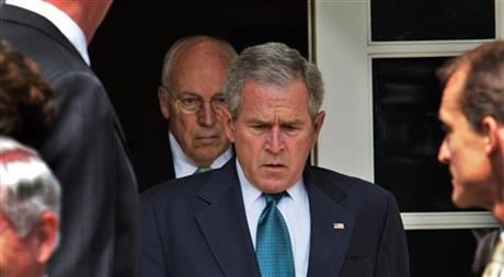 George W. Bush, Dick Cheney,