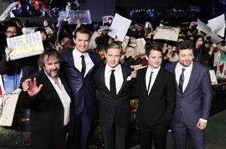 Peter Jackson, Richard Armitage, Martin Freeman, Elijah Wood, Andy Serkis