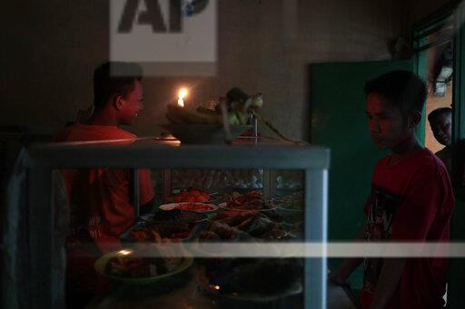 Indonesia Blackout