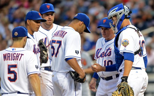 Johan Santana, Terry Collins. 