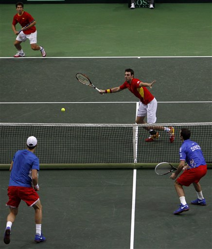 Czech Republic Spain Davis Cup Tennis