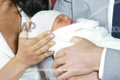 APTOPIX Britain Royal Baby