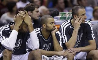 Tim Duncan, Tony Parker, Manu Ginobili