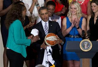 Barack Obama, Tamika Catchings