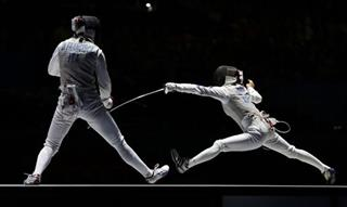 London Olympics Womens Fencing
