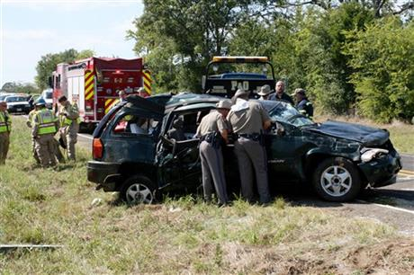 East Texas-SUV Crash