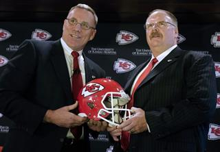 John Dorsey, Andy Reid